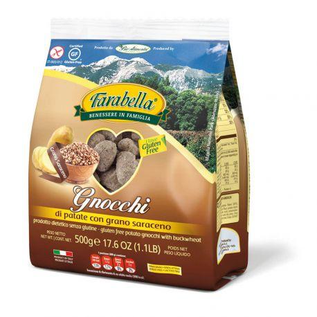 Farabella Gluten Free Gnocchi con Grana Saraceno 500gr