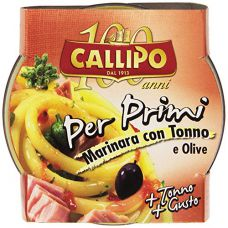 "Callipo ""Per Primi"" Tuna and Olive Paste 160gr"