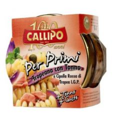 "Callipo ""Per Primi"" Tuna and Red Onion Paste 160gr"