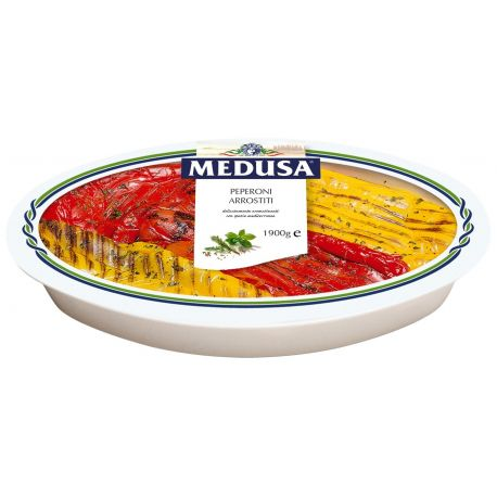Medusa Roasted peppers 1.9 kg