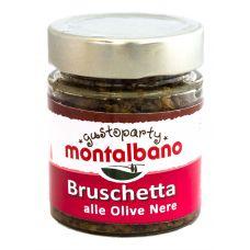 Montalbano Tapenade black olive 156 ml