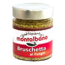 Montalbano Tapenade Mushroom 156 ml
