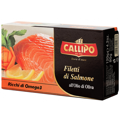 Fillets of Salmon in Olive Oil