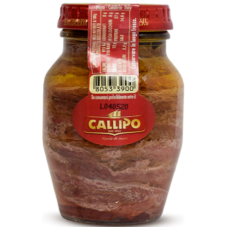 Callipo Anchovy Fillets In Extra Virgin Olive Oil 150gr