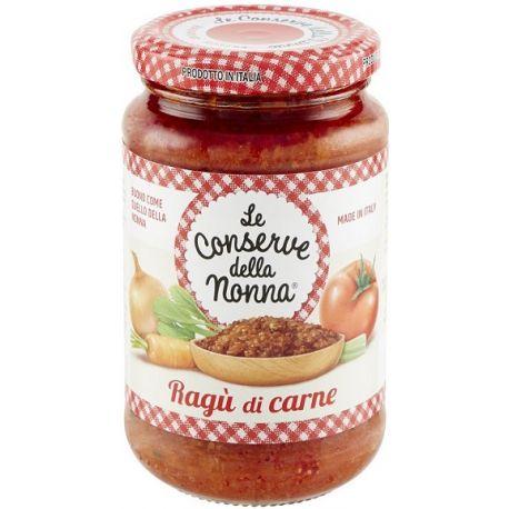 Conserve della Nonna Sauce Bolognese meat (Ragu') 370 ml