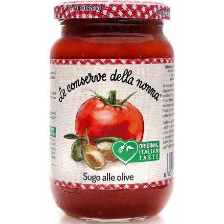Conserve della Nonna Sauce Tomato olives 370 ml