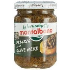Montalbano Tapenade black olive 12 x 580ml