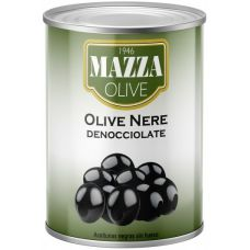 Mazza Black pitted olives 3.0 kg