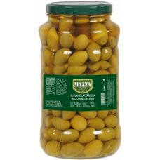 Green giant olives