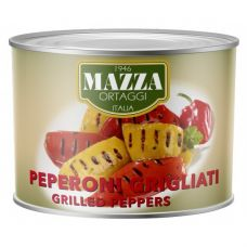 Grilled peppers in sunflower oil kg 1.9