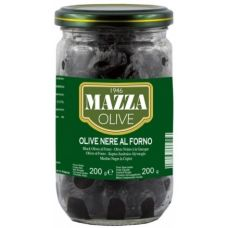Mazza pitted black olives 314 ml