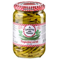 Conserve della Nonna green beans 680 gr