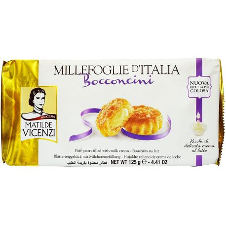 Vicenzi Bocconcini milk cream