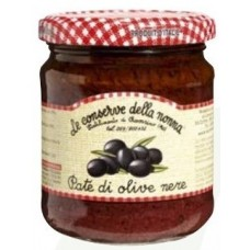 Conserve della Nonna Tapenade Black Olives 212 ml