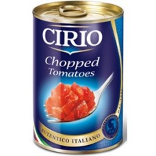 Cirio Chopped Tomatoes CAN 400 gr