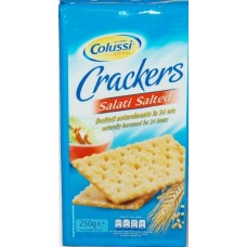 Salted crackers
