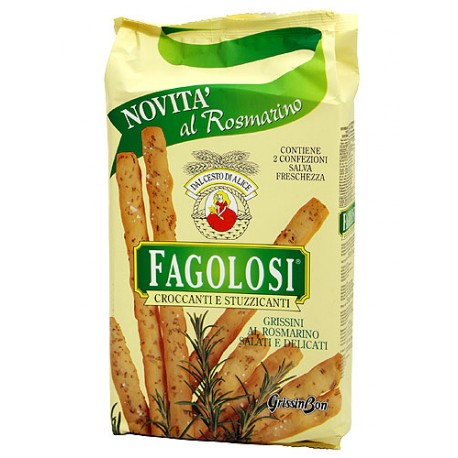 Grissini fagoloso Rosmary 250 gr