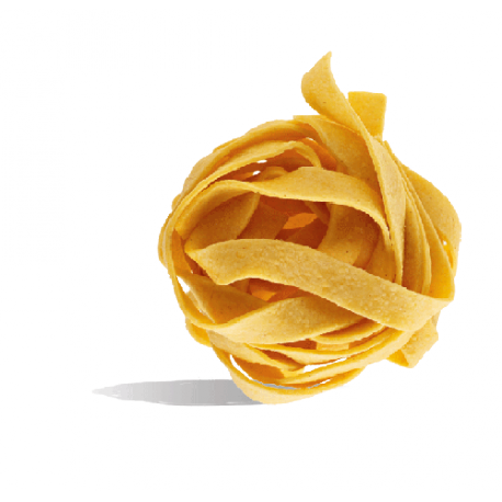 Rustic egg Tagliatelle