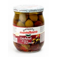 Montalbano Olive cocktail marinated 580 ml