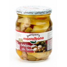 Montalbano Tuscan mixed vegetable Antipasto 580 ml