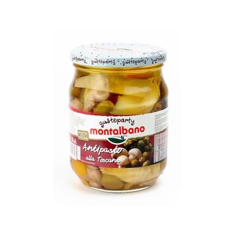 Montalbano Tuscan mixed vegetable Antipasto 580 ml