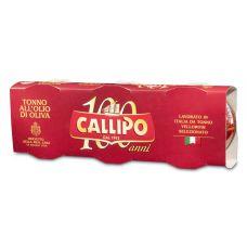 Callipo Yellowfin Tuna in Olive Oil 3x80gr