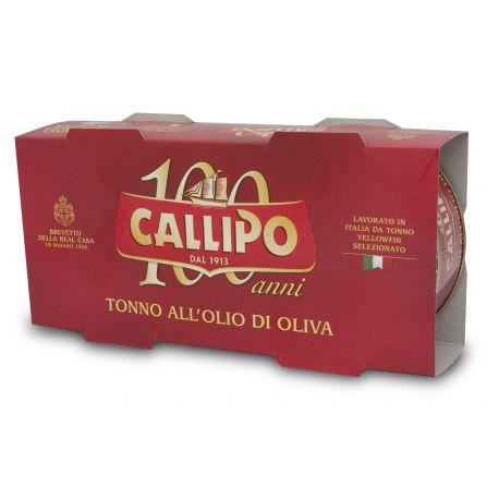 Callipo Yellowfin Tuna in Olive Oil 2x160gr