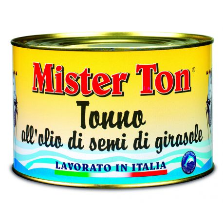 Callipo Mister Ton in Sunflower Oil 1.65kg