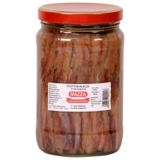 Mazza Anchovy Fillets Jar 0.35 kg