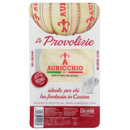 Auricchio Provolone Classic Spicy sliced 100 gr